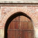 Puerta original del hospital