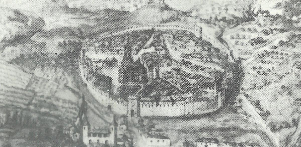 Vista de Torrelaguna en 1629